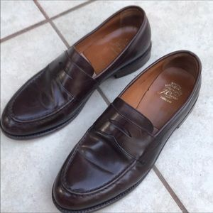 J.Crew Mans loaferStyle Leather Shoe size 11.5 D